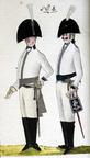 Kürassier und Offizier des Regiments Heising 1806