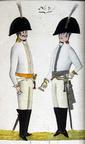 Offizier und Kürassier vom Regiment Reitzenstein 1806