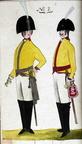 Offizier und Kürassier vom Regiment Beeren 1806