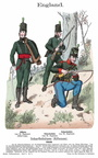 England - Rifles 1813
