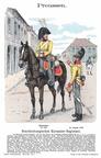 Offizier und Kürassier des Brandenburgischen Kürassier-Regiments 1809 (Richard Knötel)