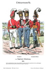 Dänemark - Infanterie-Regiment Oldenburg 1813