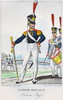 Infanterie - 2. Garde-Regiment zu Fuß, Tambour-Major 1815