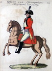 Chevauxlegers-Regiment Gersdorff - Offizier