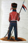 Russland - Husar vom Regiment Isjum am 7.2.1814